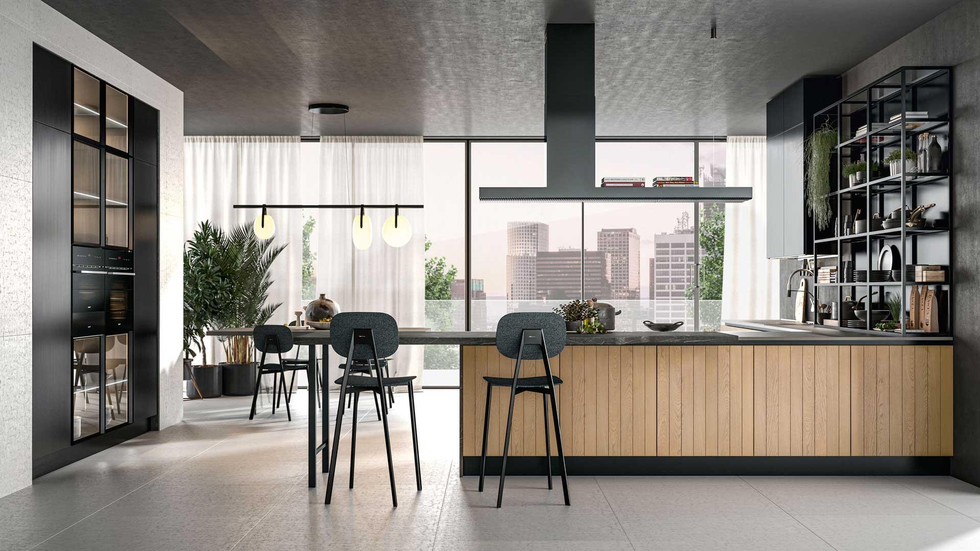 Clover - Lube - Cucine Moderne