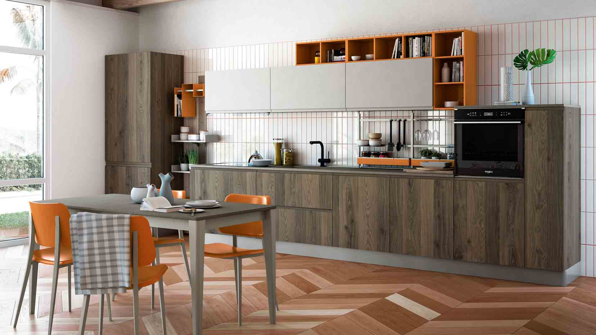 Jey Feel - Cucine Moderne - Creo Kitchens