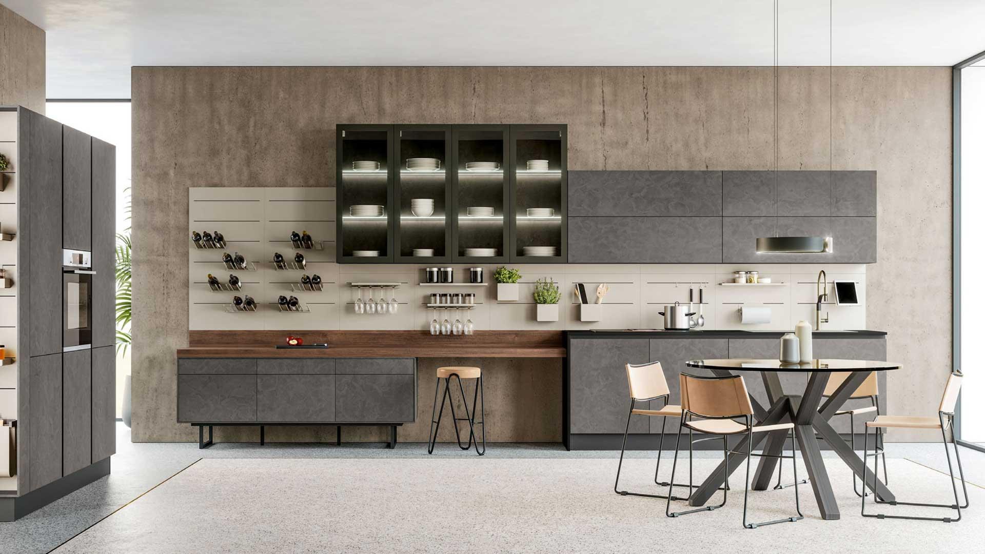 Round - Lube - Cucine Moderne